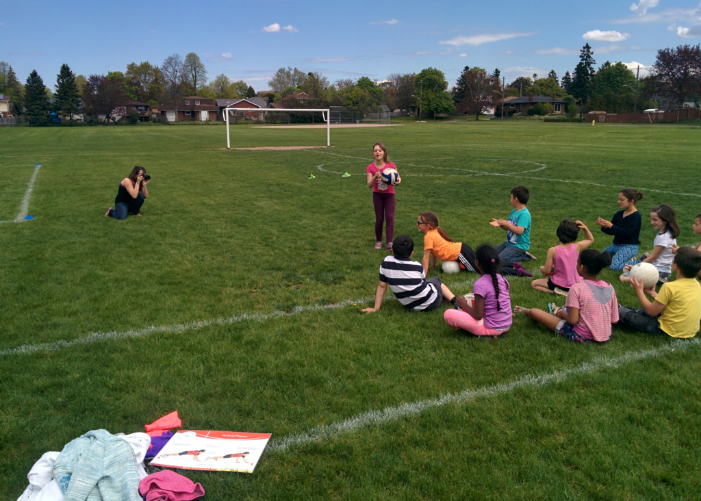 photographing students and capturing the atmosphere and spirit of their day