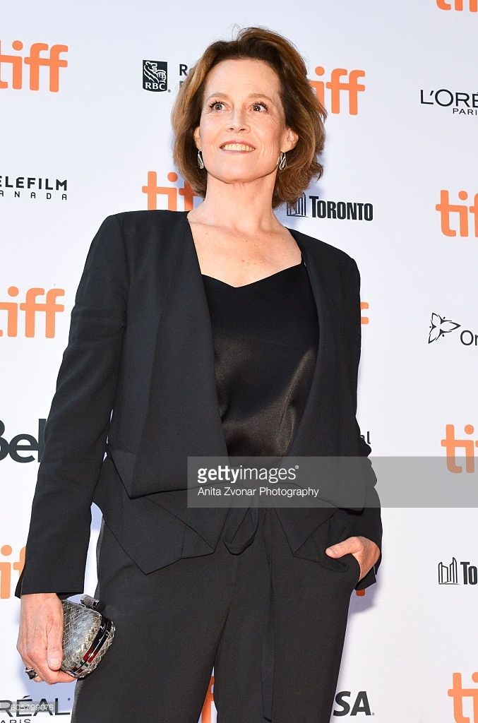 Actress Sigourney Weaver looking awesome!