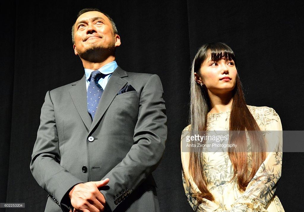Ken Watanabe and Aoi Miyazaki, famous actors
