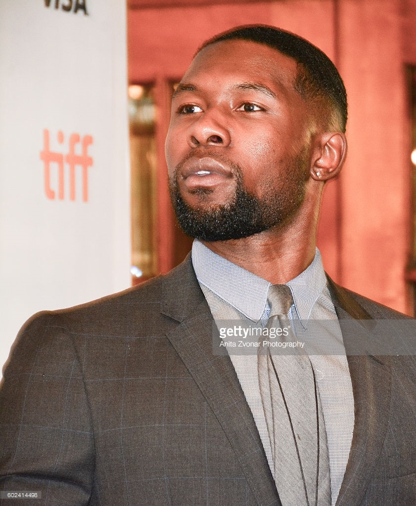Trevante Rhodes attends the premiere of 'Moonlight' during the 2016 Toronto International Film Festival