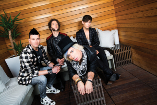 marianas trench photography in toronto for the cover of Faze magazine