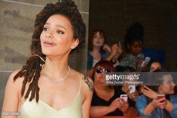 actress Sasha Lane on the red carpet at TIFF2016. toronto celebrity photographer