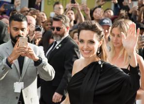 Angelina at premiere TIFF17